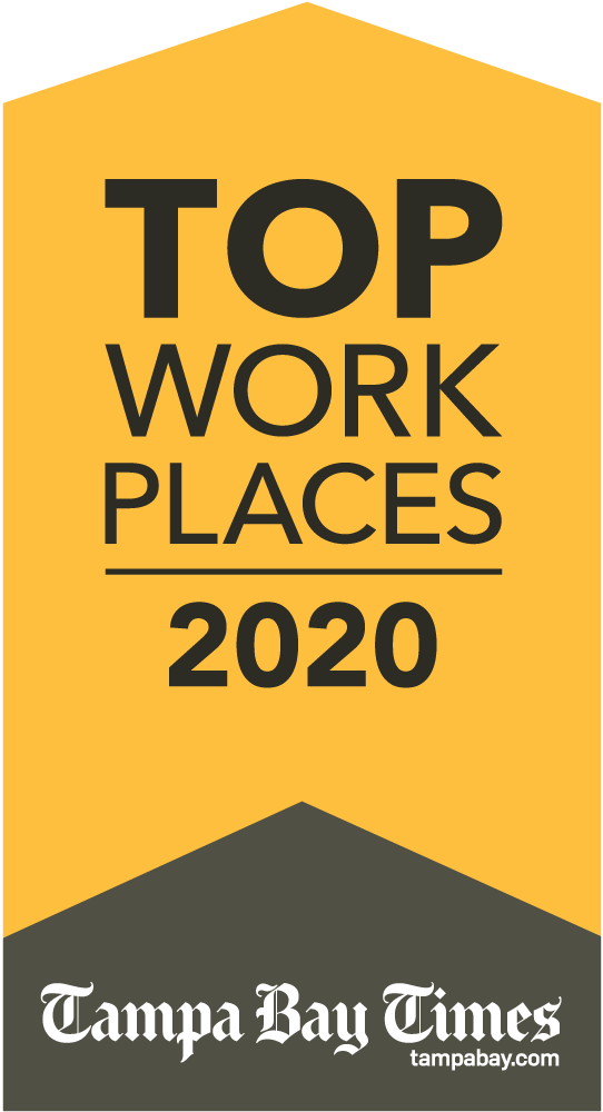 Tampa Bay Times Top Work Places 2020